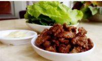 家常菜生菜包肉