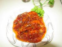 开胃的番茄大虾