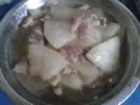秀色的冬瓜炒肉