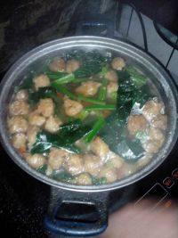 家常菜肉丸汤