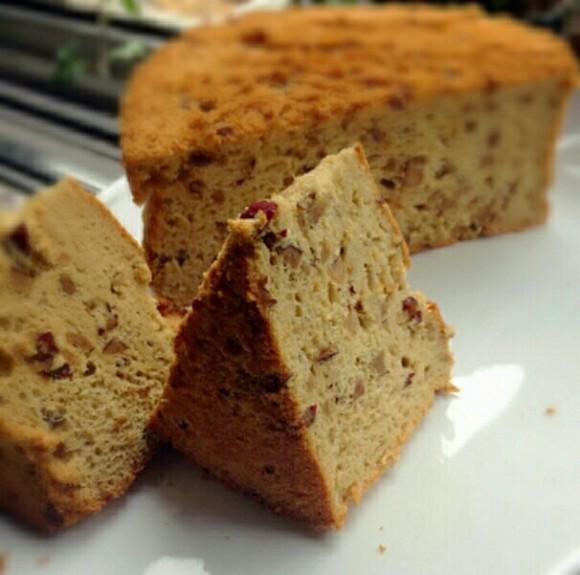 美味营养的红糖红枣戚风蛋糕
