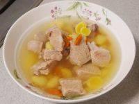 美味的白果排骨汤