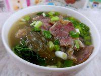 自制牛肉粉丝汤