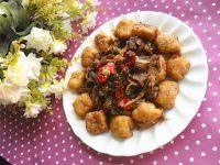 开胃油豆腐烧肉