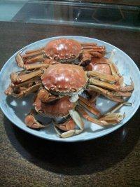 美味的清蒸膏蟹