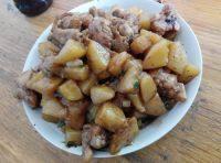 杏鲍菇炒千页豆腐