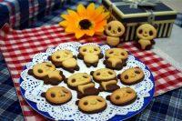 清爽的熊猫饼干