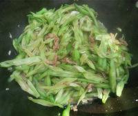 家常菜炒豆角