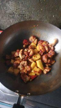 美味的菠萝咕噜肉