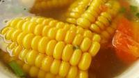 滋补玉米炖排骨