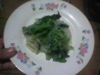 香飘的菠菜拌粉丝