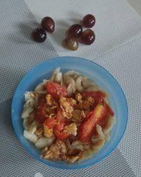 下饭的西红柿鸡蛋剪刀面