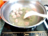 美味的香菇丸子