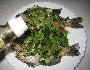 可口的清蒸太阳鱼