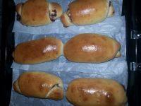 解馋的豆沙面包卷