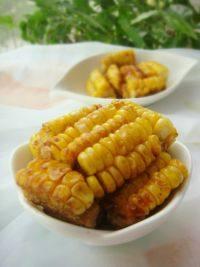 鲜美的椒盐玉米