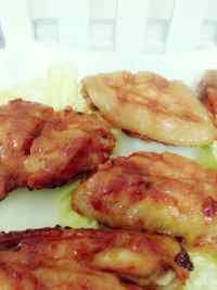 美味的奥尔良烤鸡翅