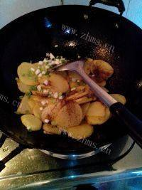 秀色可餐的孜然土豆片