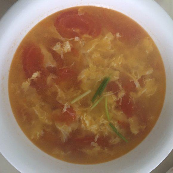 营养的西红柿鸡蛋汤