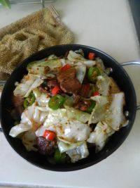 家常干锅包菜