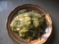家常菜清炒黄瓜片