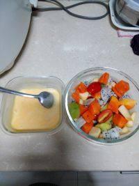 美味可口的水果沙拉