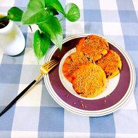 自制南瓜糯米饼