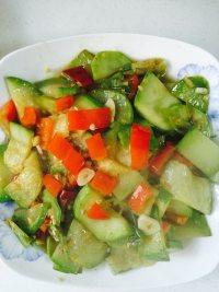 家常菜素炒西葫芦