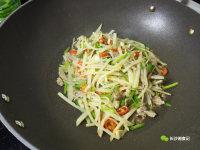 家常菜芹菜土豆丝