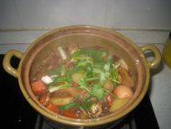 美味的土豆牛腩煲