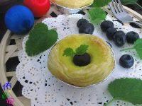 美味的蓝莓蛋挞