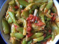 家常菜素炒丝瓜