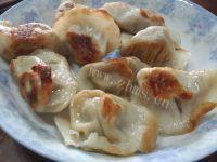诱人的油煎饺子