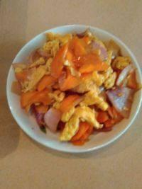 家常菜洋葱炒蛋