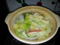可口的蔬菜汤