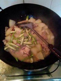 养颜的冬瓜炒肉