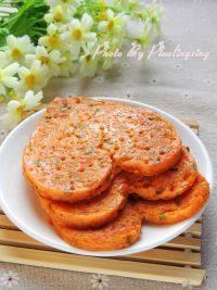 自己做的韩式泡菜煎饼