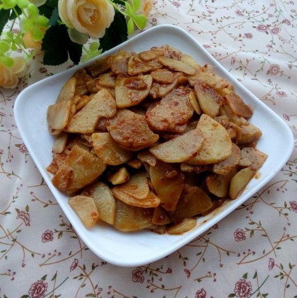 好吃的红烧土豆片