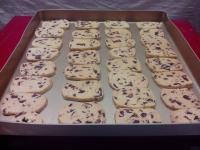 香脆的蔓越莓饼干