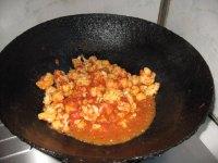 家常菜西红柿炒菜花