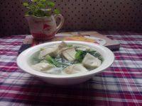 家常菜青菜豆腐汤