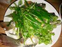 家常菜清蒸罗非鱼