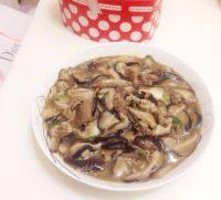 香菇肉片(懒人版)