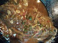 家常菜红烧福寿鱼