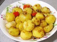 秀色可餐的椒盐小土豆