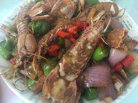 喷香的皮皮虾