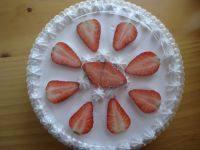 最爱的草莓奶油蛋糕