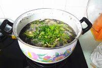 家常菜丝瓜紫菜汤