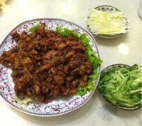 家常菜京酱肉丝