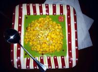 美味的松仁玉米